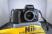 NIKON AF F-601 (N6006) SLR 35mm film  Camera Body. Flash? - see description