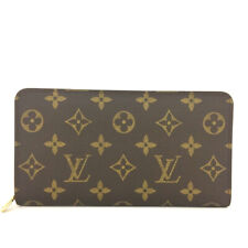 Louis Vuitton Monogram Porte Monnaie Zippy Long Wallet /90757