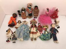 New listing Vintage Mixed Assorted International Doll Lot