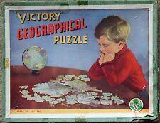 Wooden Map Vintage Puzzles