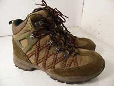 Lafuma Brown Red Ankla Boots Hiking Trail Mens Size 6.5