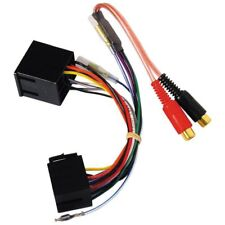 2 CHAÎNES ISO à RCA LIGNE sortie convertisseur pc9-450 NEUF