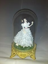 Gone with The Wind 'Scarlett's Heritage' Glass Domed Figurine 1993 Turner