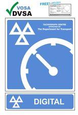 Mot signos | MOT signo | Vosa DVSA | Tacho | tacógrafo & Digital Centre signos