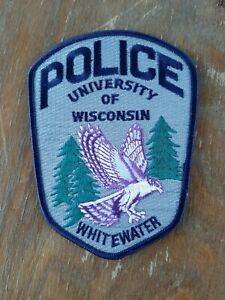 University of Wisconsin Whitewater Police Sheriff Patch Old Colorful