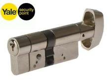 Yale Max Sécurité Anti-Attaque Thumbturn Euro Cylindre Barillet 40/40 (80 mm) - Laiton
