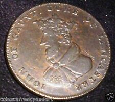 1792 CONDOR TOKEN.LANCASTER 1/2 PENNY.  (UK . GREAT BRITAIN)