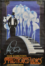 DUKE ELLINGTON'S SOPHISTICATED LADIES 1981 ORIG 41X59 STAGE POSTER GREGORY HINES