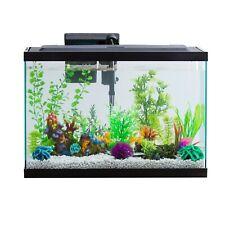 Aquarium Starter Kit 29 Gallon Led Lighting With Internal Filter Glass Tank