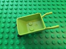 NEW Lego Easter Green Two-Wheeled Wheelbarrel Minifigure Accessory Creator City