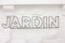 JARDIN WIRE SIGN PARISIAN