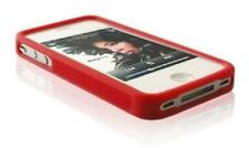 Silicone Contour Bumper Rouge ~ Apple iPhone 4 / iPhone 4S