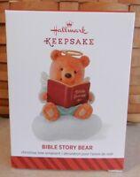 Hallmark 2014 Bible Story Bear Keepsake Ornament