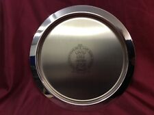 Old Hall Stainless Steel Commemorative Tray, Charles & Diana Spencer 1981,