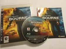 PLAYSTATION 3 PS3 gioco Robert Ludlum's The Bourne Conspiracy IN SCATOLA COMPLETO PAL