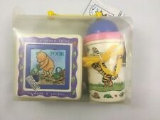 Classic POOH Three piece snack and travel set Puzzle Canteen Food  NWT