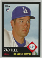 2016 Topps Archives Black #93 Zach Lee Rookie RC #d 1/1 Los Angeles Dodgers