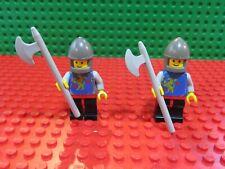 Lego® Figuren, Classic Ritter, Löwenherz mit Aufkleber, 2 Stück, extrem selten