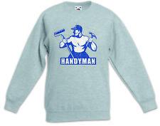 Handyman III Kinder Pullover Heimwerker Handwerker Handwerk Hammer Werkzeug