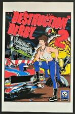 Destruction Derby II POSTER Video Game Rare Promo Unsigned Coop