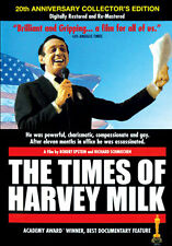 DVD:TIMES OF HARVEY MILK - NEW Region 2 UK
