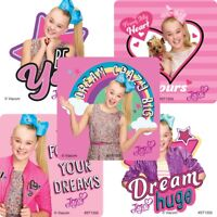 Jojo Siwa Stickers x 5 - Bows Party Supplies Loot Jojo Siwa Girl's Party Fun