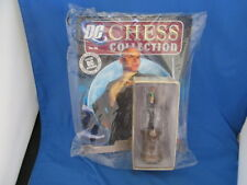 New DC Chess Collection #38 Hand Painted Metallic Lex Luther Blk King Eaglemoss