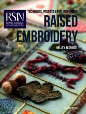Raised Embroidery by Kelley Aldridge, Royal School of Needlework (London, Eng...