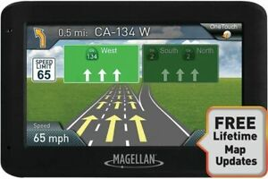 "Magellan RoadMate 2525-LM GPS 4.3"" LCD NEW SEALED"