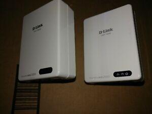 D-Link DHP-700AV Powerline Av2 2000 Gb Network (Pair)