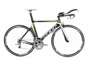 USED 2011 Felt B16 54cm Ultegra Carbon TT Triathlon Bike 2x10 Speed