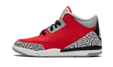 """Jordan 3 Retro fire red """"Red Cement"""" - CQ0487 600 - 2020 new ds youth sizes sale"""