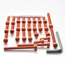 Pro-Bolt Aluminium Engine Bolt Kit - Orange EYA235O Yamaha XT600E 90-04
