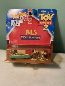 Vintage Hot wheels Disney Toy Story Al's Toy Barn