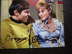 BONNIE BEECHER As SYLVIA  Authentic Hand Signed Autograph 4X5 PHOTO - STAR TREK