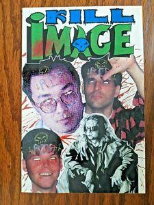 💎 Kill Image #1 (Boneyard Press 1993) Indie One Shot Comic - Foil Cover 💎
