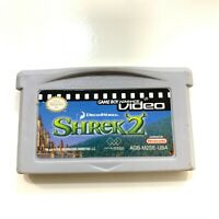 Shrek 2 - Game Boy Advance GBA Video Movie (Cart Only) Authentic Tested