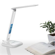 Simplecom Dimmable Touch Control Multifunction LED Desk Lamp 4w Digital Clock