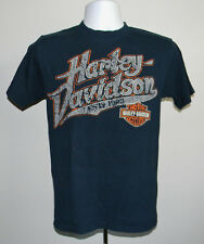MENS HARLEY DAVIDSON T SHIRT CANCUN Q.ROO MEXICO SMALL DISTRESSED
