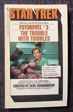1977 STAR TREK Fotonovel #3 Trouble With Tribbles VG/FN 5.0 Bantam Paperback