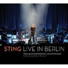 "STING ""LIVE IN BERLIN"" CD+DVD NEW!"