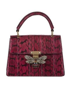Gucci Queen Margaret Python Satchel Bag