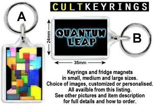 Quantum Leap keyring / fridge magnet - Ziggy