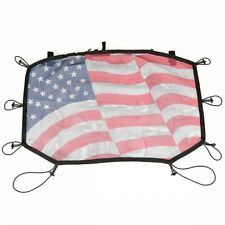 Jeep Wrangler JK Eclipse Bikini Top Malla con EE.UU. Bandera incl. Macuto 07-17