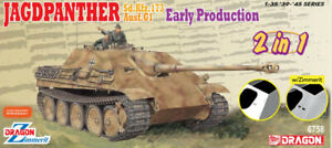 DRAGON D6758 JAGDPANTHER EARLY PRODUCTION KIT 1:35