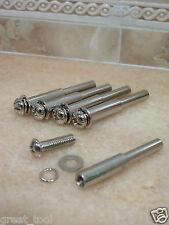 5 x THK adaptor rotary die grinder mandrel 6MM screw 6MM shank shaft tool tools