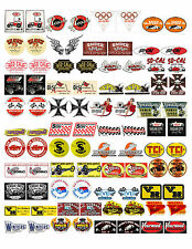 NOSTALGIC SPEED SHOP DECALS (1:18 SCALE, VOL. 3, R-Z) GASSER, HOT ROD, RAT ROD