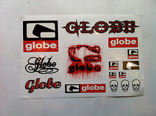 GLOBE SKATEBOARD SKATE SHOES VINTAGE STICKERS RODNEY MULLEN,CHET THOMAS,HAWK