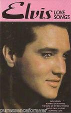 ELVIS PRESLEY - Love Songs (UK 14 Tk 1983 Cassette Album)