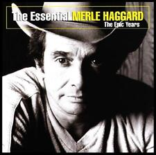 MERLE HAGGARD - THE ESSENTIAL : EPIC YEARS ~ 14 Track COUNTRY CD ~ 70's *NEW*